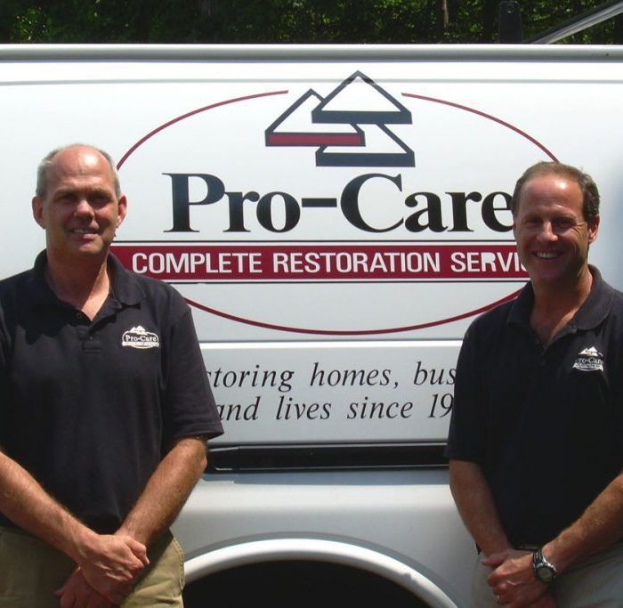 Pro-Care Van and Workers