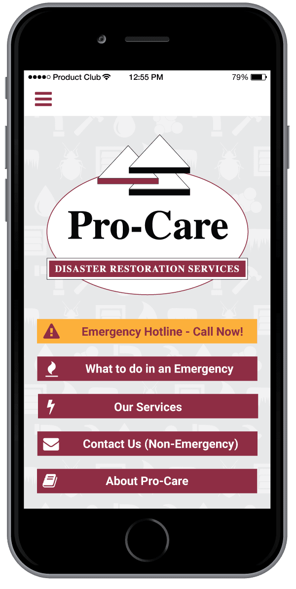 Procare App Screenshot