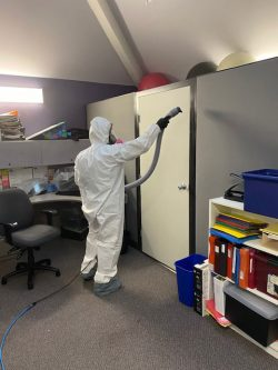 disinfecting cleaning